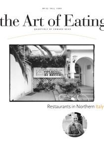 No. 52 Restaurants in Northern Italy