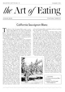 No. 19 California Sauvignon Blanc