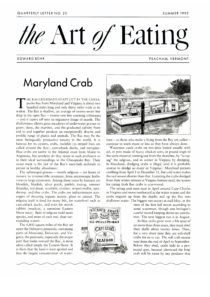 No. 23 Maryland Crab