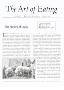 No. 26 The Nature of Lamb