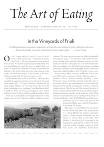 No. 28 The Wines of Fruili
