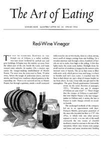 No. 30 Red Wine Vinegar