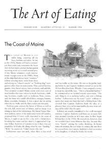 No. 31 The Coast of Maine