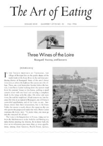 No. 32 Three Wines of the Loire