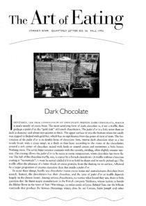 No. 36 Dark Chocolate in France