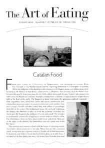 No. 38 Catalan Food