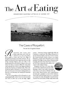 No. 43 The Caves of Roquefort