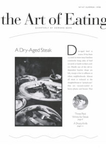 No. 47 A Dry-Aged Steak