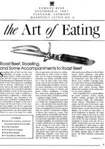No. 5 Roast Beef