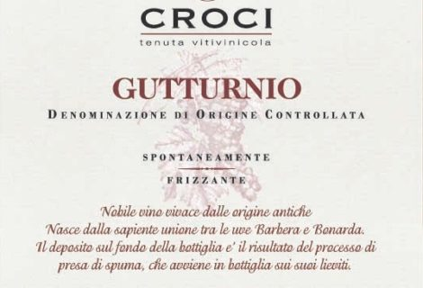 Why This Bottle, Really? Gutturnio frizzante, Croci, Emilia